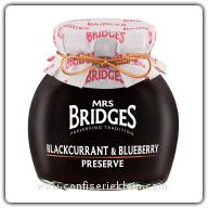 Mrs. Bridges Blackcurrant & Blueberry Preserve 340g