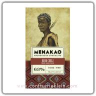 Menakao Bird Chili Dark Chocolate 63% 65g