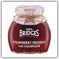 Mrs. Bridges Strawberry Preserve with Champagne 340g